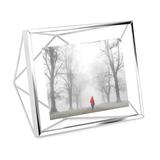 Фоторамка prisma 10х15 хром, серый фото