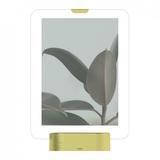 Фоторамка с подсветкой glo 13х18 латунь, серебряный/серый фото