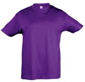 Футболка детская REGENT KIDS 150 фиолетовая, фиолетовый фото