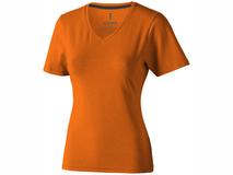 Футболка Kawartha женская с V-образным вырезом, оранжевый фото