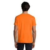 Футболка мужская Sol's Imperial, оранжевая фото