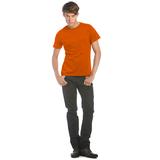 Футболка мужская Men-Only, оранжевая фото
