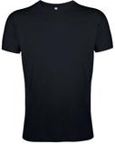 Футболка мужская Sol's Regent Fit 150, приталенная, черная фото