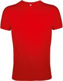 Футболка мужская Sol's Regent Fit 150, приталенная, красная фото