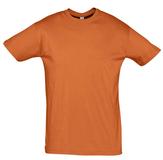 Футболка унисекс Sol's Regent 150, оранжевая фото