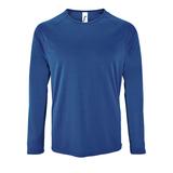 Футболка с длинным рукавом SPORTY LSL MEN, ярко-синяя фото