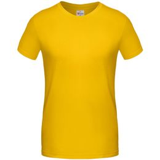 Футболка унисекс T-Bolka 180, желтая фото