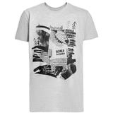 Футболка «Волка футболка», серый меланж фото