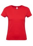 Футболка женская E150 красная, красный фото