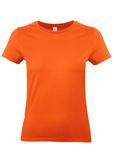Футболка женская E190, оранжевая фото