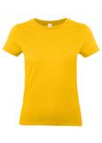 Футболка женская E190 желтая фото