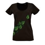 Футболка женская Evergreen Leaves фото