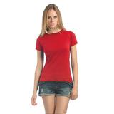 Футболка женская Exact 190, красная фото