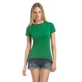 Футболка женская Exact 190, ярко-зеленая фото