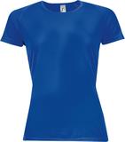 Футболка женская SPORTY WOMEN 140, ярко-синяя фото