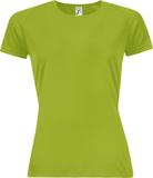 Футболка женская SPORTY WOMEN 140, зеленое яблоко фото