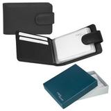 Футляр для кредитных/дисконтных карт Верона в подарочной упаковке, черный фото