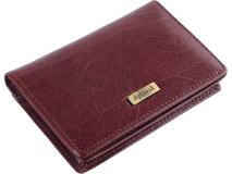 Футляр для кредитных карт и визиток, коричневый фото