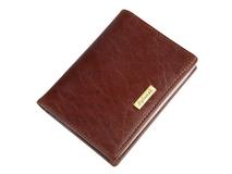 Футляр для кредитных, коричневый фото