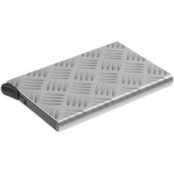 Футляр для пластиковых карт Hard Work, серебрный фото