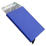 Футляр для пластиковых карт Motion, синий фото
