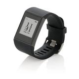 Фитнес часы E-ink, черный фото
