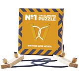 Головоломка Challenging Puzzle Wood, модель 1, дерево, бежевая фото