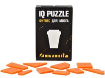Головоломка IQ Puzzle в виде стаканчика, стекло, оранжевая фото
