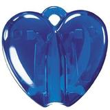 Держатель для авторучки HEART CLACK, прозрачный синий фото
