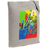 Холщовая сумка Artist Bear, серая фото