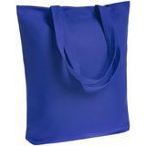 Холщовая сумка Avoska, ярко-синяя фото