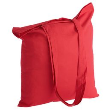 Холщовая сумка Basic 105, красная фото