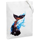 Холщовая сумка «Гиганты Вселенной», молочно-белая фото