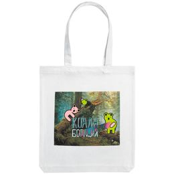 Холщовая сумка «Коалаборация», молочно-белая фото