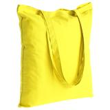 Холщовая сумка Optima 135, желтая фото