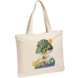 Холщовая сумка с молнией «На здоровье!», неокрашенная фото