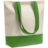 Холщовая сумка Shopaholic, ярко-зеленая фото