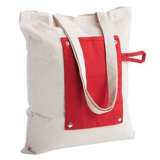Холщовая сумка Dropper, складная, красная фото