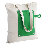 Холщовая сумка Dropper, складная, зеленая фото