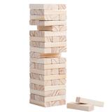 Игра Деревянная башня, большая, бежевый фото