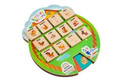 Игра «Волшебные окошки. Веселая ферма», разноцветная фото