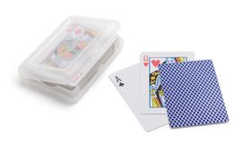 Игральные карты House of Сards, футляр прозрачный фото