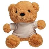 Игрушка Медвежонок Умка в футболке, бежевый фото