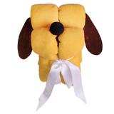 Игрушка-плед «Пес Трансформер», желтый фото