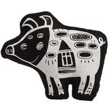 Игрушка Свинка, витающая в облаках, черная фото