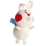 Мягкая игрушка Заяц Акира, белая фото