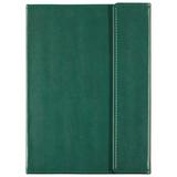 Ежедневник Inspire Left, недатированный, зеленый фото