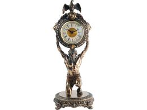 Часы Мировое время, золотой фото