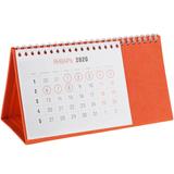 Календарь настольный Brand, оранжевый фото