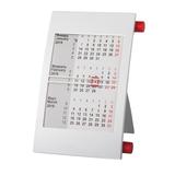 Календарь настольный на 2 года, белый/ красный фото